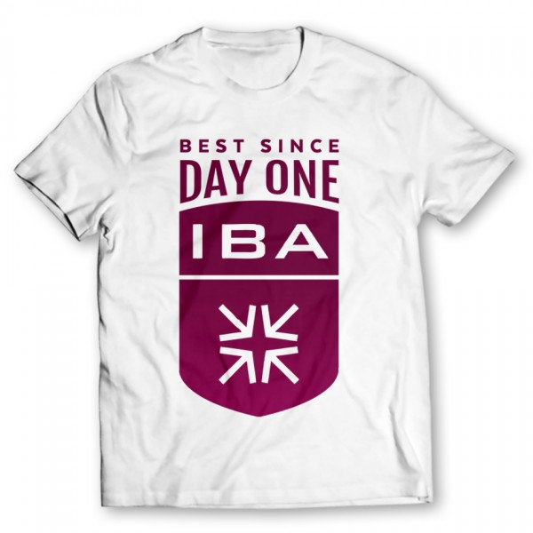 iba printed graphic t-shirt